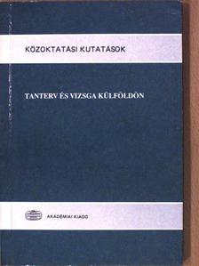 Báthory Zoltán - Tanterv és vizsga külföldön [antikvár]