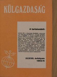 Alejandro Lorca Corrons - Külgazdaság 1993/6 [antikvár]