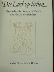 Dante Alighieri - Die Lust zu lieben [antikvár]