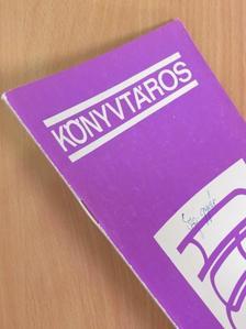 Bényei Miklós - Könyvtáros 1977. szeptember [antikvár]