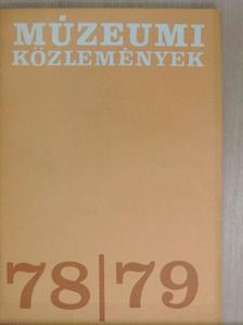 Agócsy Pál - Múzeumi Közlemények 1978/79. [antikvár]