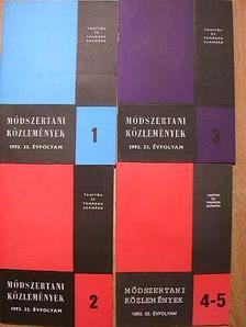 Balogh József - Módszertani közlemények 1993/1-5. [antikvár]