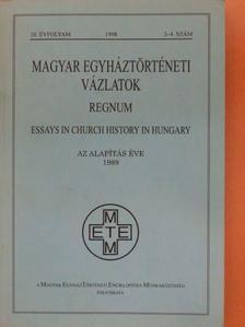 Blet Pierre - Magyar Egyháztörténeti Vázlatok 1998/3-4. [antikvár]