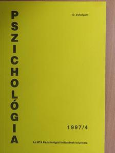 Barkóczi Ilona - Pszichológia 1997/4. [antikvár]