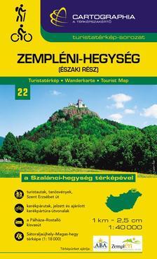 """Cartographia Kiadó - Zempléni-hegység (északi rész) turistatérkép 1:40000 - """"SC"""""""