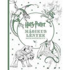 Harry Potter - Mágikus lények - színezőkönyv