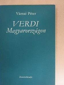 Várnai Péter - Verdi Magyarországon [antikvár]