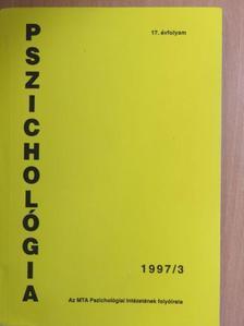 Halász László - Pszichológia 1997/3. [antikvár]