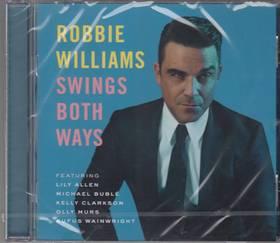 SWING BOTH WAYS CD ROBBIE WILLIAMS
