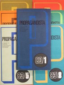 Benke József - Propagandista 1983. (nem teljes évfolyam) [antikvár]