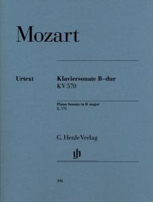 MOZART, W,A, - KLAVIERSONATE B-DUR KV 570 URTEXT (HERTTRICH/THEOPOLD)