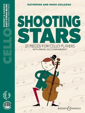 COLLEDGE - SHOOTING STARS. 21 PIECES FOR CELLO PLAYERS WITH AUDIO CD