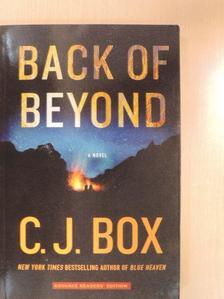 C. J. Box - Back of Beyond [antikvár]
