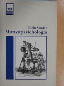 Antalovits Miklós - Munkapszichológia [antikvár]