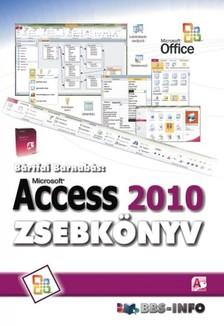 BÁRTFAI BARNABÁS - Access 2010 zsebkönyv [eKönyv: epub, mobi]