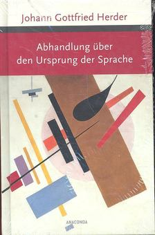 Herder, Johann Gottfried - Abhandlung über den Ursprung der Sprache [antikvár]