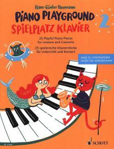 HEUMANN, HANS-GÜNTER - PIANO PLAYGROUND 2. 25 PLAYFUL PIANO PIECES EASY TO INTERMEDIATE