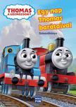 Thomas a Gőzmozdony - Egy nap Thomas barátaival - színezőkönyv