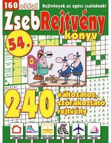 CSOSCH KIADÓ - ZsebRejtvény Könyv 54.