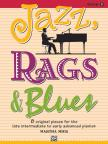 MIER, MARTHA - JAZZ, RAGS & BLUES - BOOK 5 - 8 ORIGINAL PIECES FOR THE LATE INTERMEDIATE TO EARLY ADVANCED PIANIST