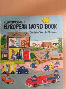Richard Scarry - European Word Book [antikvár]