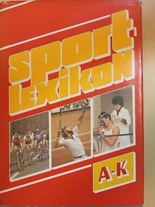 Antal Zoltán - Sportlexikon I. (töredék) [antikvár]