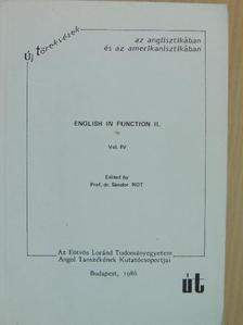 Korponay Béla - English in function II. [antikvár]