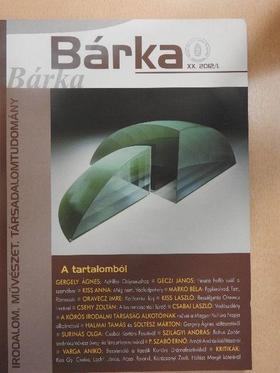 Banner Zoltán - Bárka 2012/1. [antikvár]