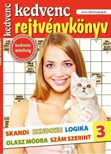 CSOSCH KIADÓ - Kedvenc Rejtvénykönyv 3.
