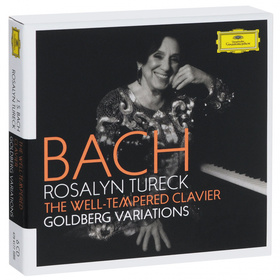 Bach - THE WELL-TEMPERED CLAVIER,GOLDBERG VARIATIONS 6CD TURECK
