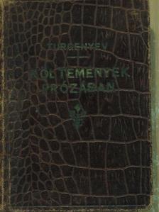 Turgenyev - Költemények prózában [antikvár]