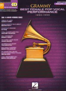 BEST FEMALE POP VOCAL PERFORMANCE 1990-1999 + CD PRO VOCAL WOMEN'S EDITION VOL.57