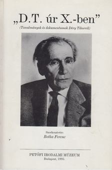"Botka Ferenc - ""D.T. úr X.-ben"" [antikvár]"