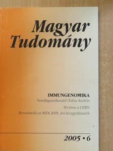 Angyal Adrienn - Magyar Tudomány 2005. június [antikvár]