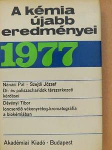 Dévényi Tibor - A kémia újabb eredményei 37. [antikvár]