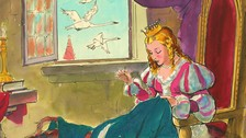 Andersen - A tizenegy hattyú