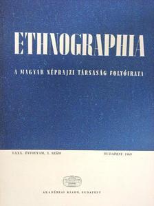 Barabás Jenő - Ethnographia 1969/3. [antikvár]