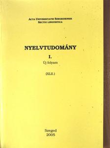 Bárány Borbála - Nyelvtudomány I. [antikvár]