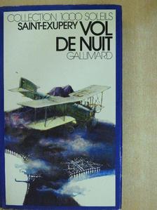 Antoine de Saint-Exupéry - Vol de nuit [antikvár]