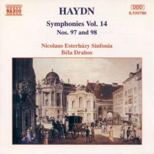 HAYDN J. - SYMPHONIES NOS.97 AND 98 CD