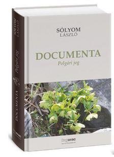 Sólyom László - Documenta 1-3.köt. I.Polgári jog II.Alkotmányjog III.Közélet