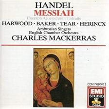 Handel - MESSIAH (EXCERPTS) CD MACKERRAS