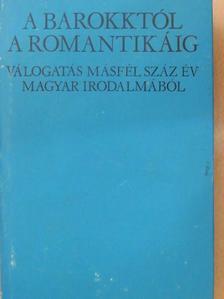 Amadé László - A barokktól a romantikáig [antikvár]