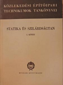 Gábor István - Statika és szilárdságtan I. [antikvár]
