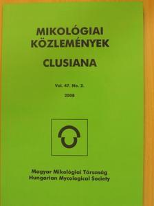Király István - Mikológiai Közlemények 2008/2. [antikvár]