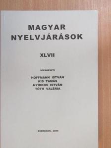 Boros Katalin - Magyar nyelvjárások XLVII. [antikvár]