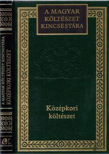 Margócsy István - Középkori költészet [antikvár]