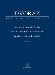 DVORAK - SLAWISCHE RHAPSODIE AS-DUR OP.45/3, STUDIENPARTITUR URTEXT