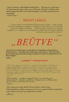 """Bálint László - """"Beütve"""""""