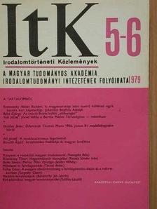 Bernáth Árpád - Irodalomtörténeti Közlemények 1979/5-6. [antikvár]